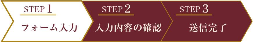STEP1 フォーム入力